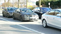 New Mercedes CLK & E-Class Together Spy Photos