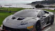 Lamborghini Huracan Super Trofeo shows its metal [video]