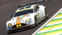Aston Martin testing solar panels on their race cars