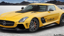 Misha Designs previews Mercedes-Benz SLS AMG body kit
