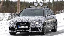 Audi RS6 Avant facelift spy photo