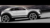2016 Audi Q1 rumored to cost €25,000, RS Q1 planned with 310 HP