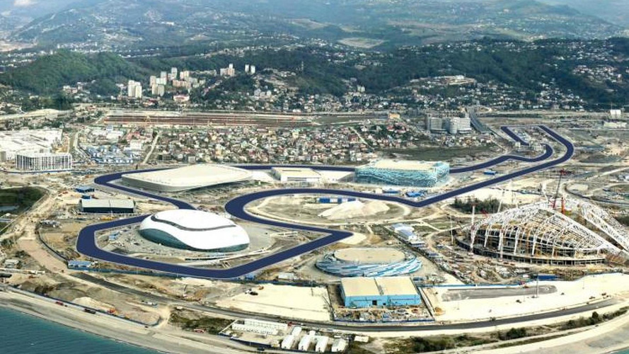 Organiser rejects doubts over 2014 Russia GP