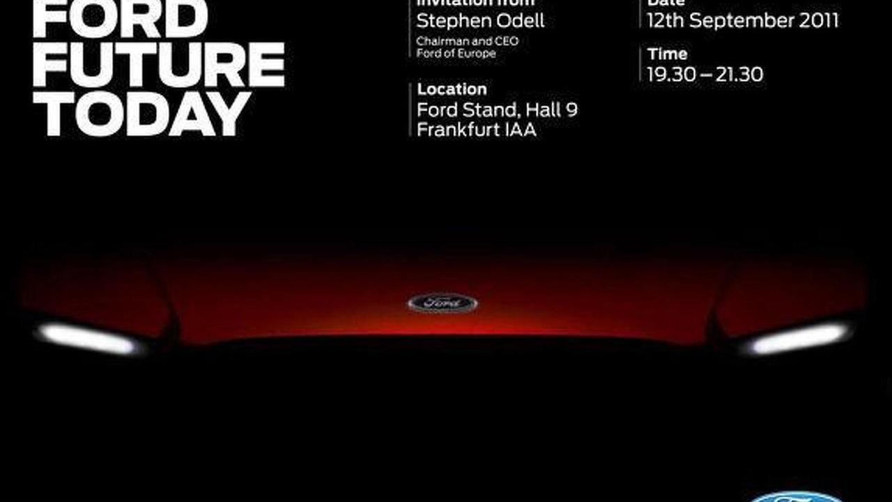 Ford Frankfurt invite - 3.8.2011