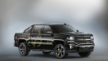 Chevrolet Silverado Realtree Bone Collector bows at SEMA