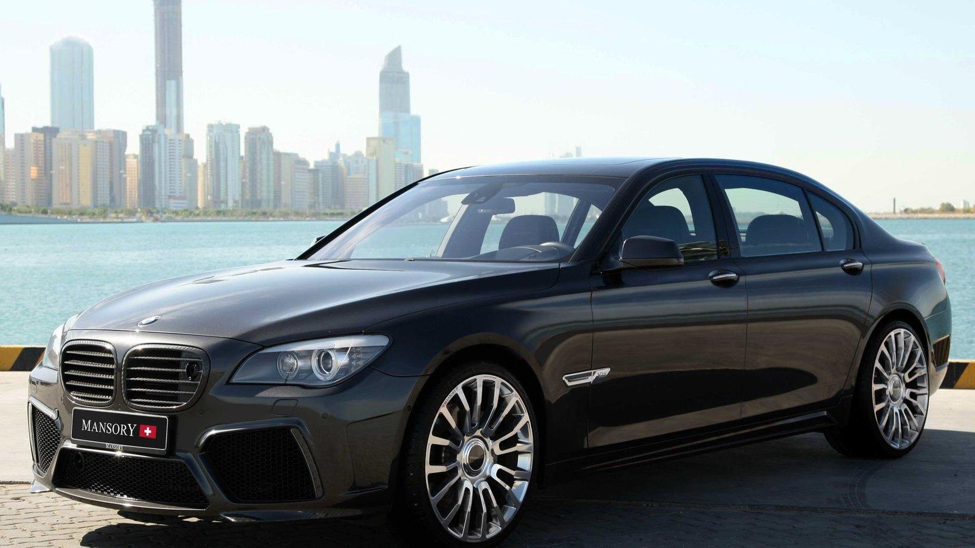 Mansory does the BMW 7-Series