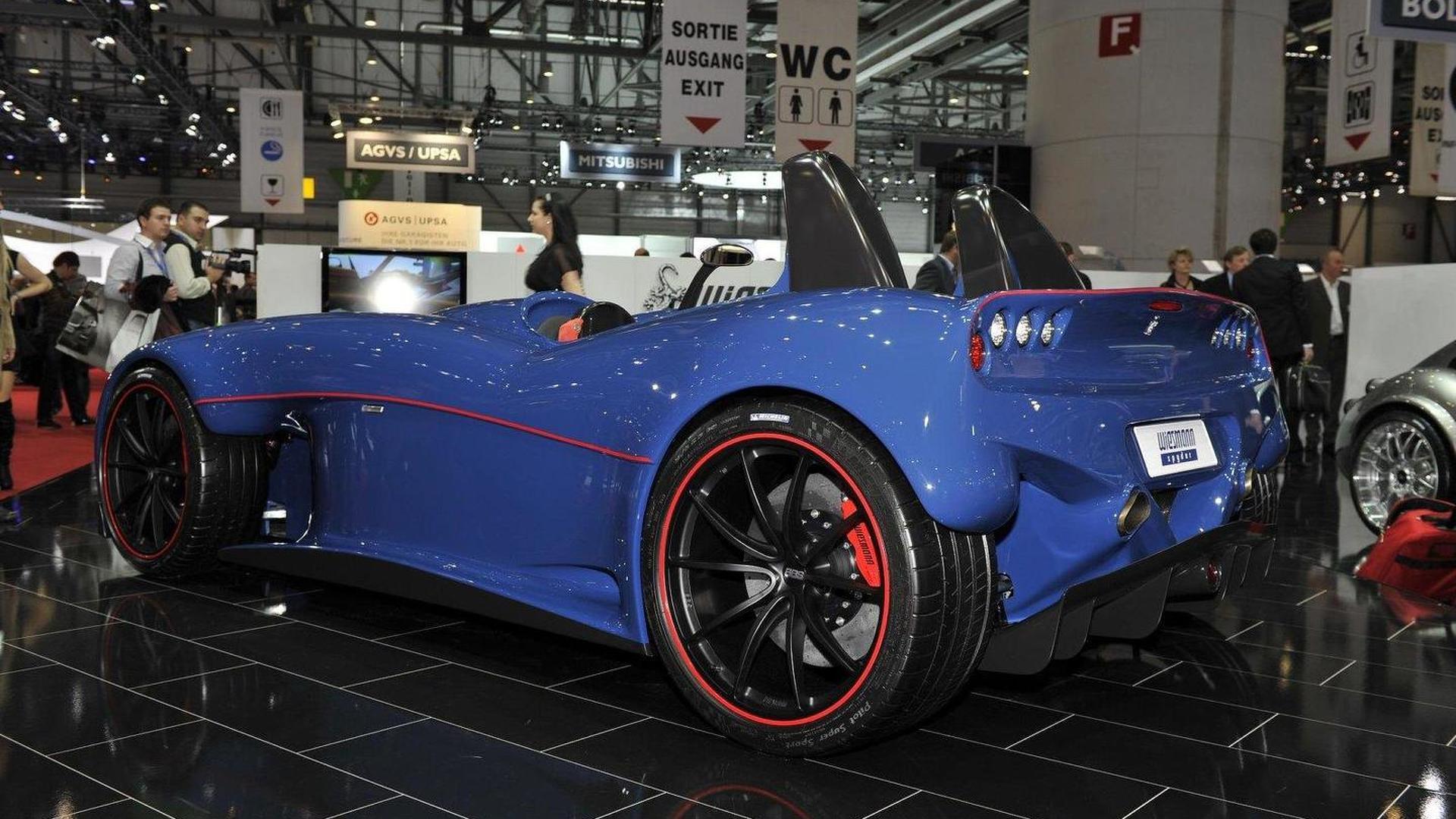 Wiesmann Spyder concept arrives in Geneva