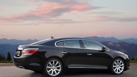 Buick LaCrosse rebadged as GM Daewoo Alpheon in Korea
