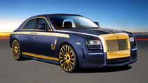 Mansory Rolls Royce Ghost styling preview for Geneva Debut 23.02.2010