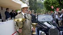 Coppa d'Oro Villa d'Este, Jon Shirley, Alfa Romeo 8C 2900B, 1938, Concorso d'Eléganza Villa d'Este 2009