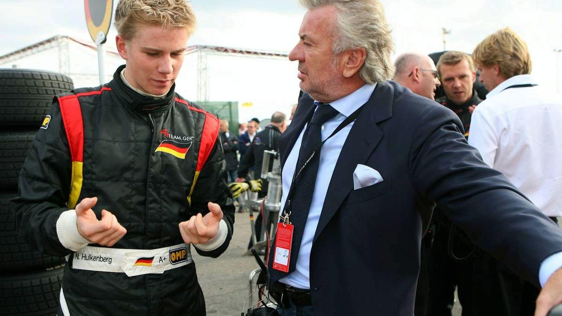 Weber plans Ferrari future for Hulkenberg
