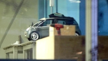 Smart ForTwo+2 spied through the window
