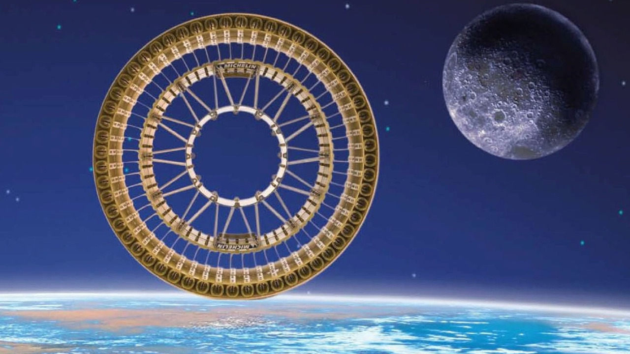 Michelin Lunar Wheel
