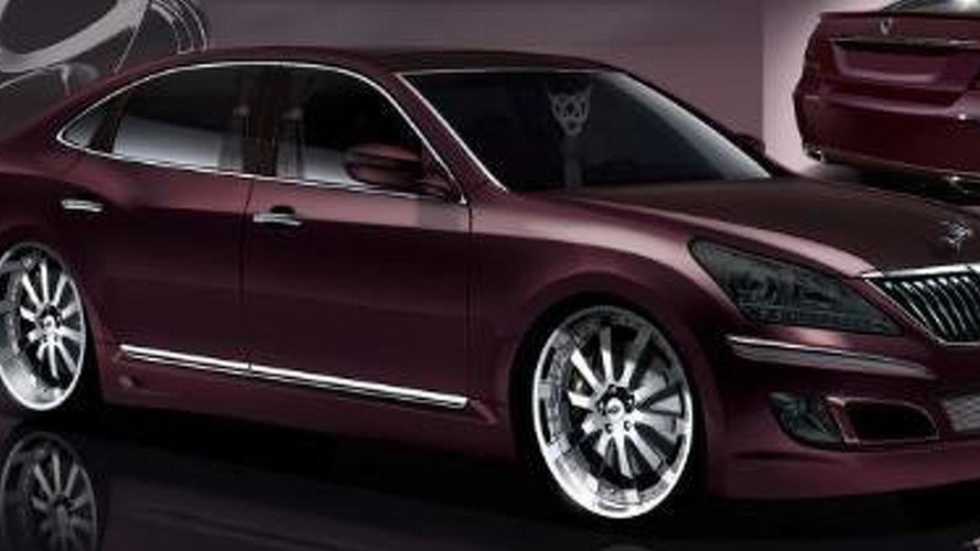 Hyundai Equus by Mummbles Marketing for SEMA