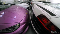 Watch 49 supercars unpacked from garage after Hurricane Matthew