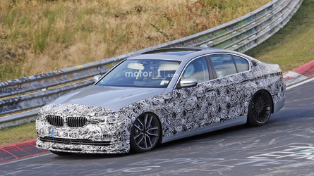 2018 Alpina B5 pushed hard on the demanding Nurburgring