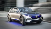Mercedes EQ electric CUV to arrive fashionably later this decade