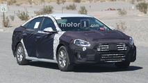 Hyundai Sonata and N Variant Spy Photos