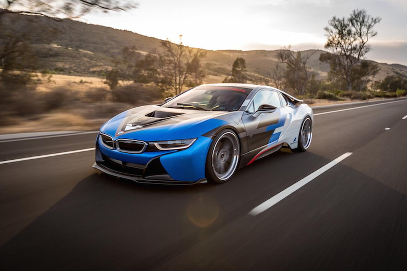 Vorsteiner BMW i8 Dolled Up in New Shoes, Subtle Aerodynamics