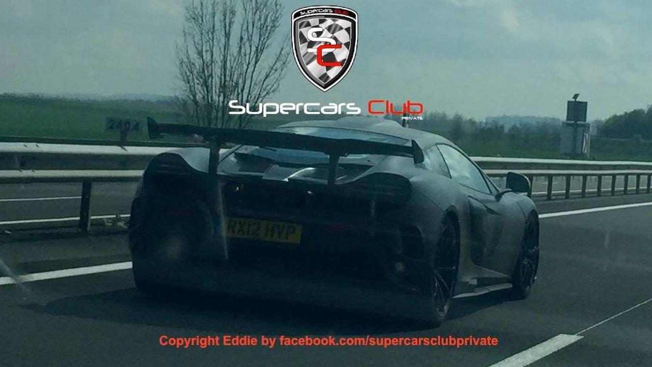 Interesting McLaren spy photo