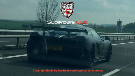 McLaren 675LT spied in France could be MSO bespoke car