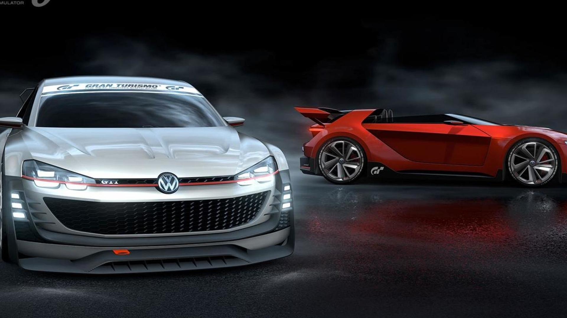 Volkswagen GTI Supersport Vision Gran Turismo revealed [video]