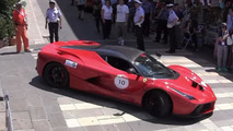 2015 Ferrari Cavalcade event brings 15 LaFerraris together [video]