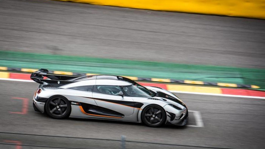 Koenigsegg One:1 sets new record for production car at Spa [video]