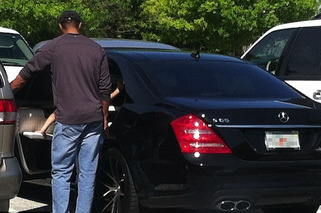 Lindsey Vonn sat in Tiger Woods' Car for an Hour to Avoid his Ex-Wife