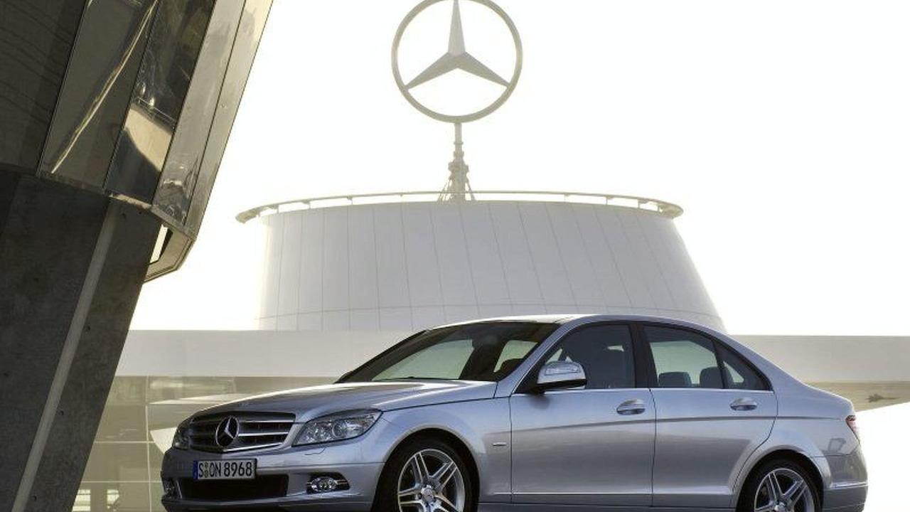 New 2008 Mercedes C-Class world premiere