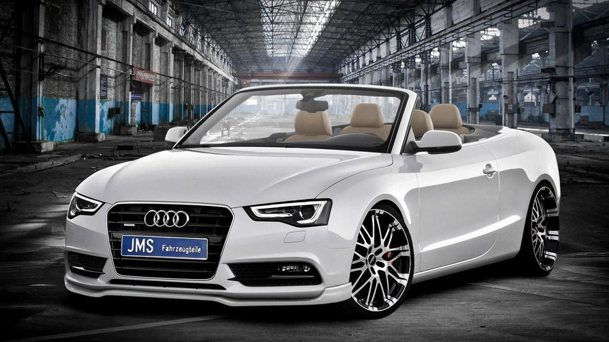 Audi A5 Cabrio facelift gets JMS styling package