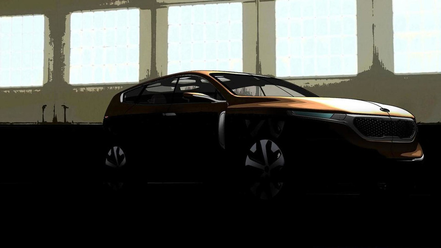 Kia Cross GT concept teased for Chicago - previews a possible Borrego successor