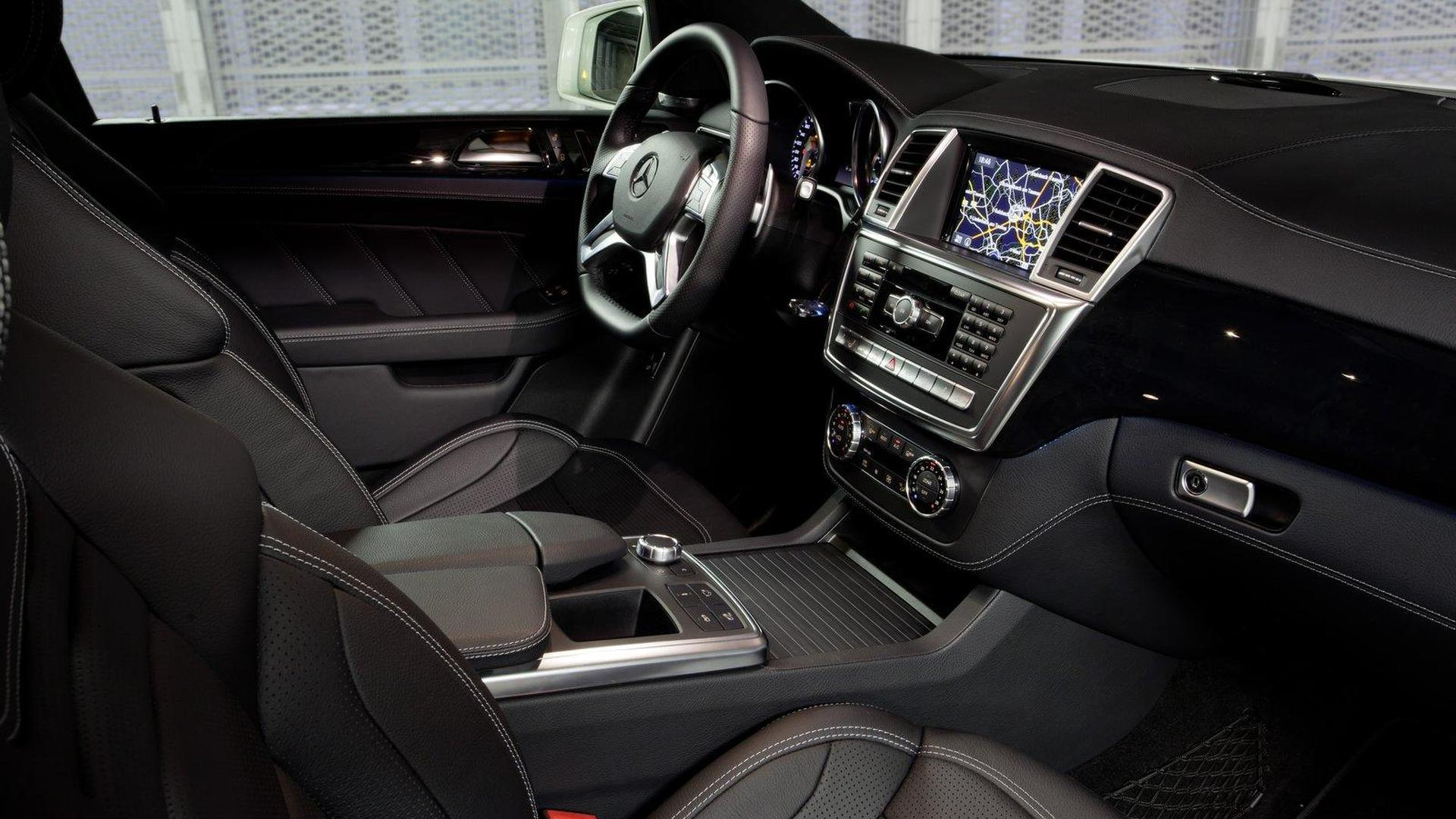 2012 Mercedes-Benz ML63 AMG revealed [video]