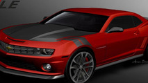 Chevrolet Camaro and Corvette SEMA concepts previewed