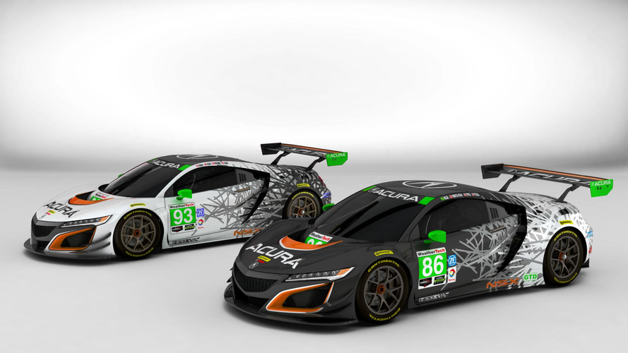 Check out the Acura NSX GT3's look ahead of its competition debut
