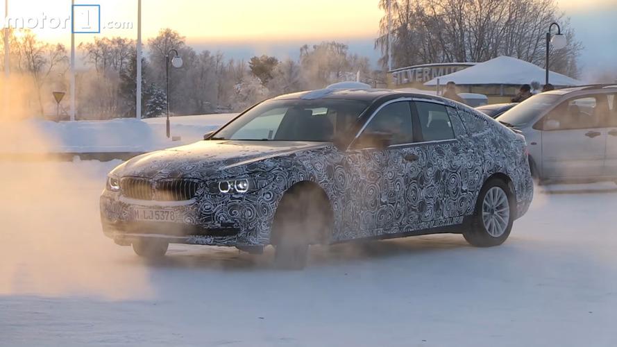 BMW 6 Series GT screenshots from spy video