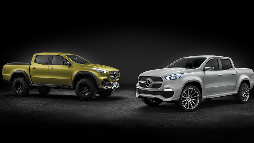 Mercedes Concept X-Class truck aims to haul your stuff in style