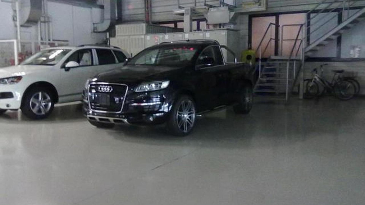 Audi Q7 Pickup truck - 16.8.2011