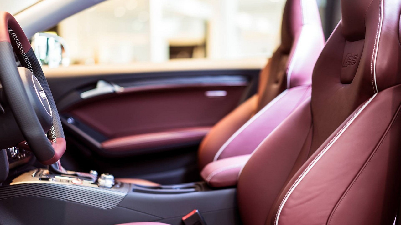 Audi S5 Coupe in Mahogany Mica