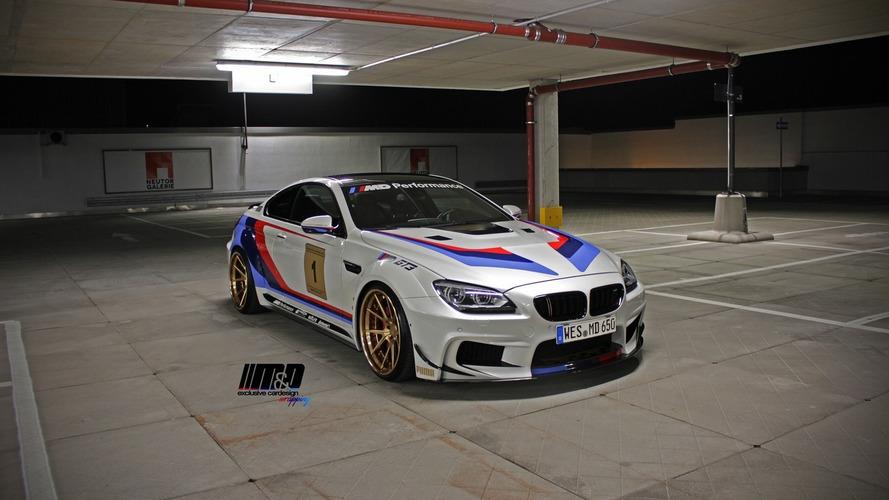 Prior Design and M&D upgrade BMW 650i with GT3 influences