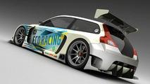 3D Rendered: Volvo C30 Racecar by Vizualtech