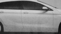 Alleged BMW 1-Series GT image surfaces - based on next 1er