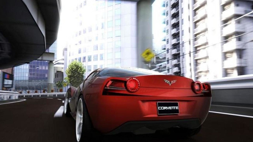 Corvette C7 rendered by college student