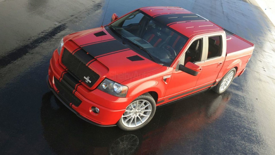 Shelby F-150 Super Snake Concept Unveiled