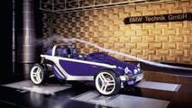 BMW Just 4/2 concept car 26.03.2010