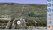 Google VW Future Vehicle Navigation System