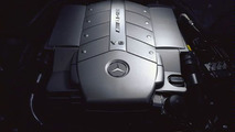 Mercedes-AMG S55 engine