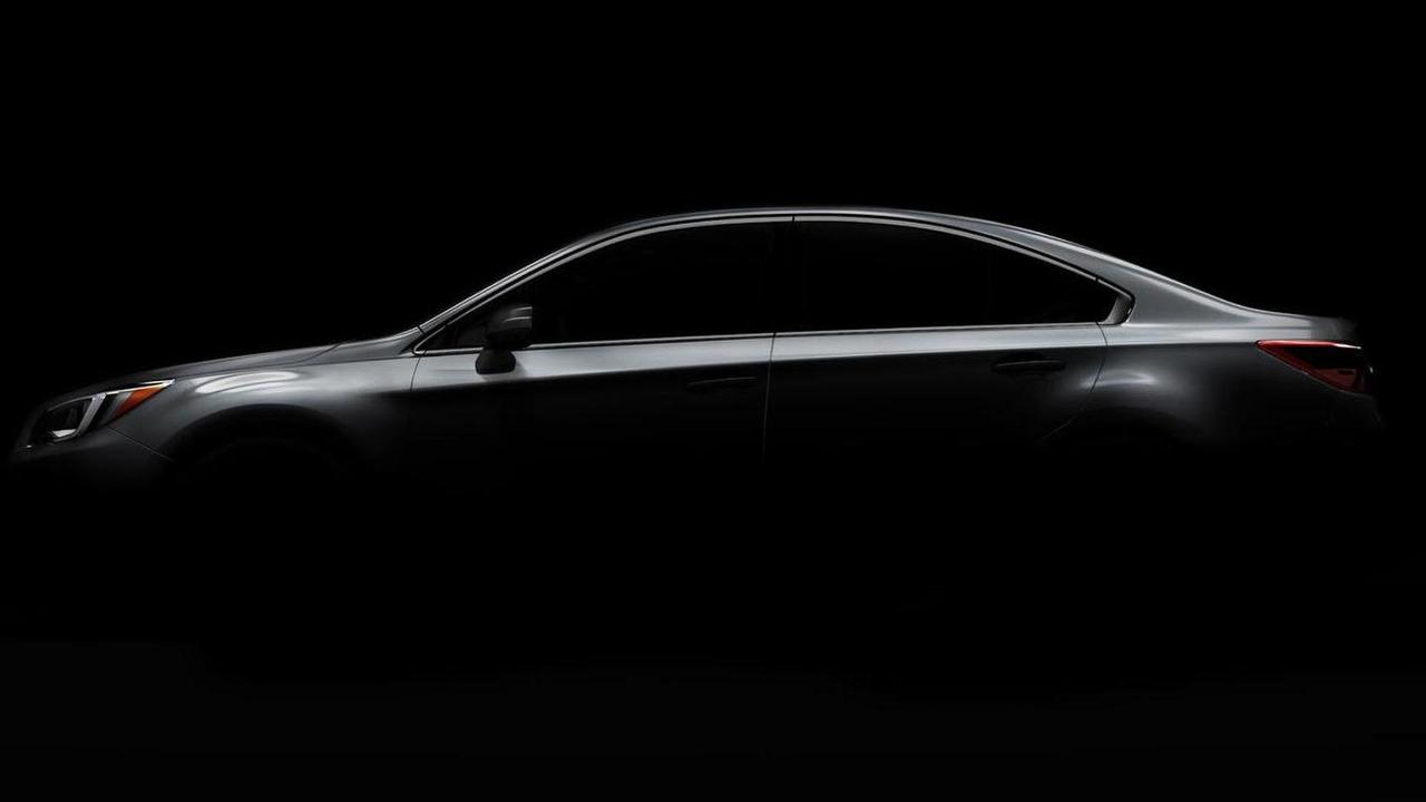 2015 Subaru Legacy teaser image