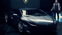 Lamborghini Huracan LP 610-4 first official video released