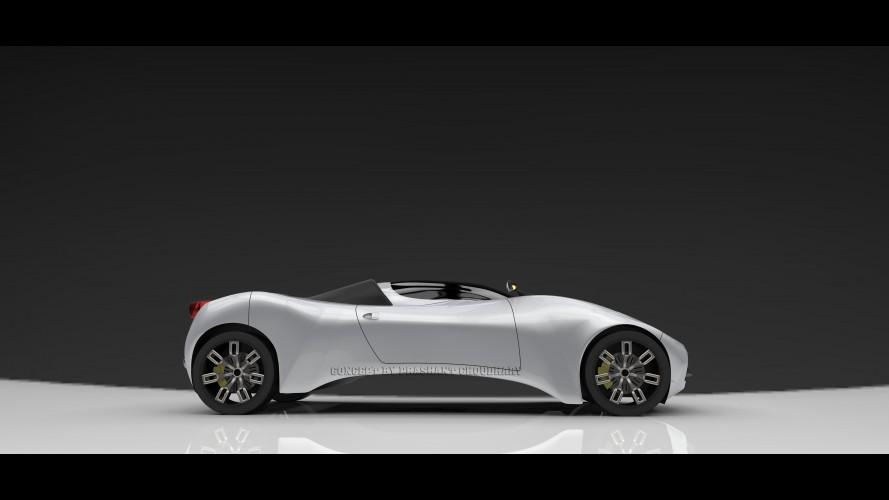 Ferrari Concept by Prashant Choudhary